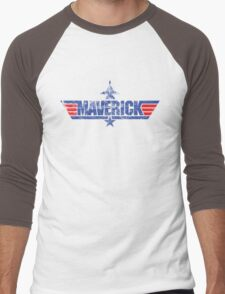 Custom Top Gun Style - Maverick Men's Baseball ¾ T-Shirt
