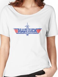 Custom Top Gun Style - Maverick Women's Relaxed Fit T-Shirt