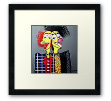TWO HEADS ARE BETTER THEN ONE Framed Print