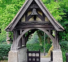 Lychgate to St Blasius Church, Shanklin  by Rod Johnson