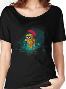 TINY ROBOT Women's Relaxed Fit T-Shirt