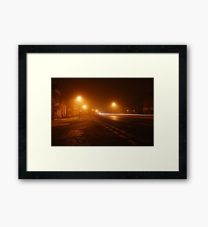 Ilford by Night Framed Print