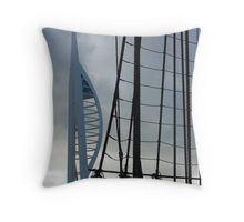 Spinnaker and Rigging Throw Pillow