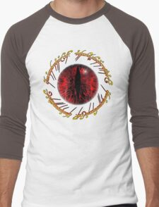 Another Eye in Elvish Lettering Men's Baseball ¾ T-Shirt