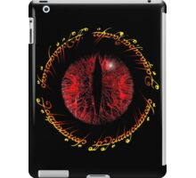 Another Eye in Elvish Lettering iPad Case/Skin