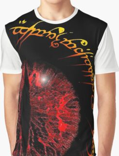Another Eye in Elvish Lettering Graphic T-Shirt
