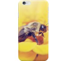 Bee on Yellow iPhone Case/Skin