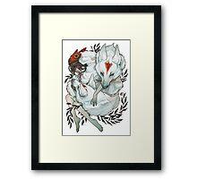Wolf Child Framed Print