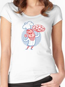 Pizza Chef Women's Fitted Scoop T-Shirt