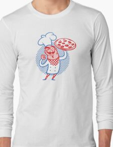 Pizza Chef Long Sleeve T-Shirt