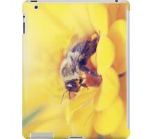 Bee on Yellow iPad Case/Skin