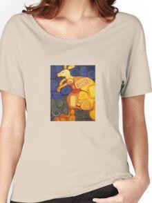 Spiral Kangaroo Women's Relaxed Fit T-Shirt