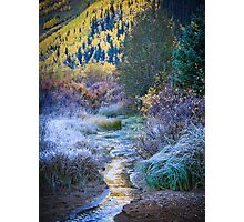 Red Mountain Creek Photographic Print