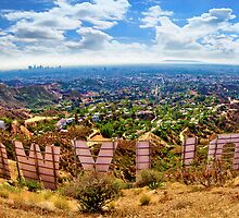 Behind the Hollywood Sign by JeanaCPhoto