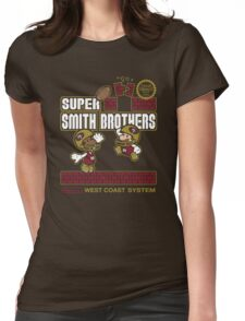 Super Smith Brothers (faded) Womens Fitted T-Shirt