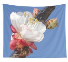 Apricot Blossom Wall Tapestry