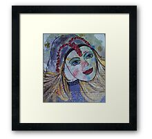 Peaceful Virgin Framed Print