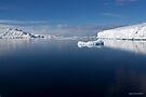 Reflecting on Antarctica 037 by Karl David Hill