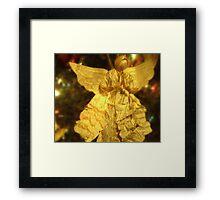 PAPER ANGEL Framed Print
