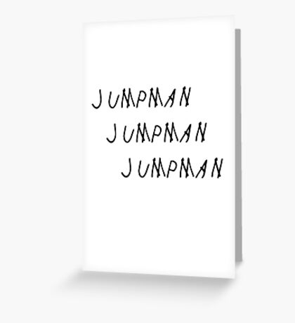 Jumpman Greeting Card