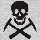 Skull & Cross Pick Hammers by SportsT-Shirts