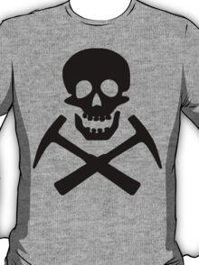 Skull & Cross Pick Hammers T-Shirt
