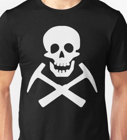 Skull & Cross Pick Hammers Unisex T-Shirt