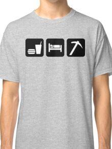 Eat Sleep Rockhound Classic T-Shirt