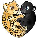 Leopard Panther Love by Lauren Eldridge-Murray