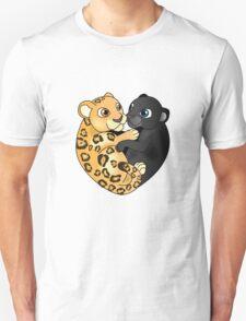 Leopard Panther Love Unisex T-Shirt