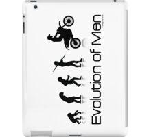 Evolution of Men- Off Road Motorcycle  iPad Case/Skin