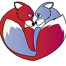 Fox love 1 by Lauren Eldridge-Murray