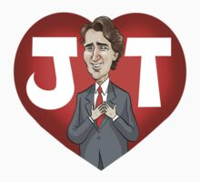 I heart Justin Trudeau One Piece - Long Sleeve