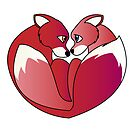 Fox love 2 by Lauren Eldridge-Murray