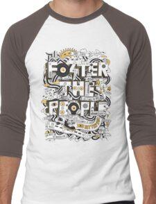 Foster the People Men's Baseball ¾ T-Shirt