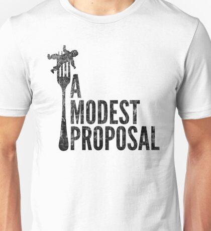 A Modest Proposal (dark) Unisex T-Shirt