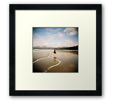 Four Mile Beach Framed Print