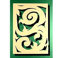 A Swirl of Vines Photographic Print