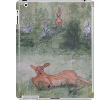 Kangaroos. iPad Case/Skin
