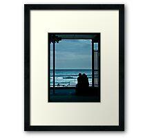 Surf Lovers Framed Print