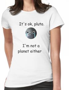 Poor Pluto Womens Fitted T-Shirt