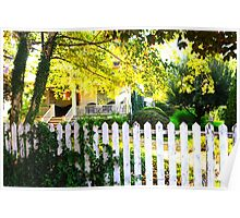 picket fences.. Poster