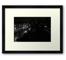 From my balcony, Framed Print