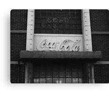 Coca-Cola Bottling Plant Canvas Print