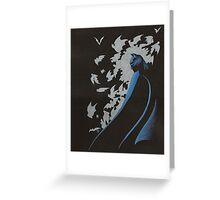 Shroud of Bats Greeting Card