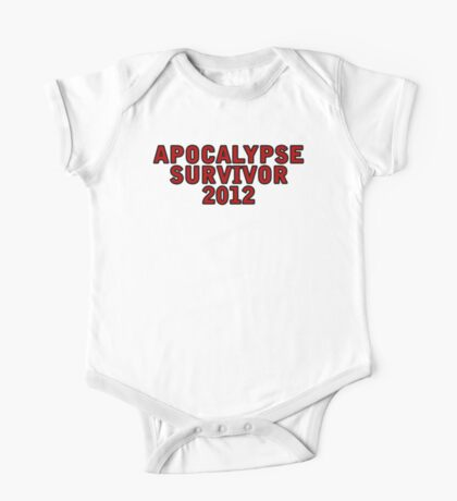 Apocalypse Survivor 2012  One Piece - Short Sleeve