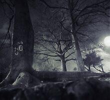 full moon by jmpznz