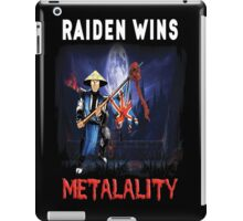 Raiden Wins Metalality (Iron Maiden) iPad Case/Skin