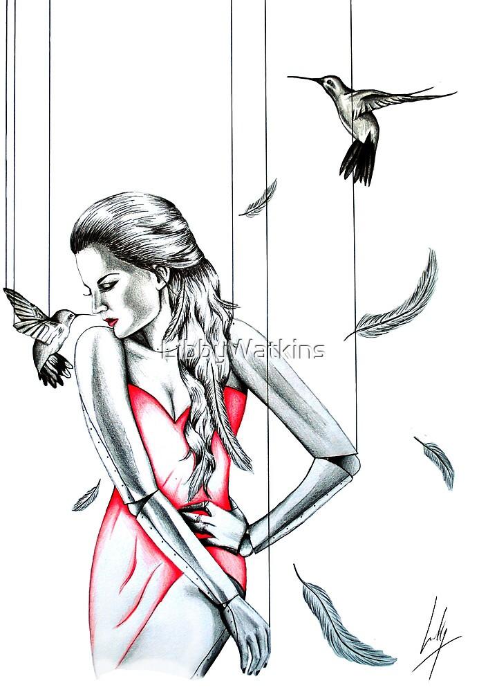 La Dame en Rouge by LibbyWatkins