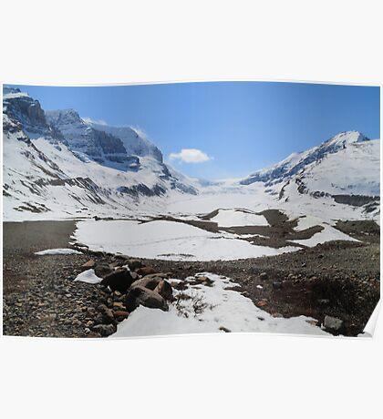 Shrinking glacier Poster